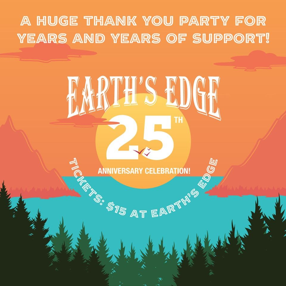 Earth's Edge is celebrating 25 years with Leftover Salmon!